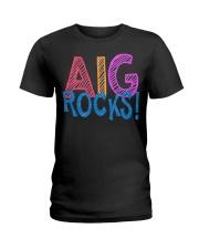 AIG ROCKS Ladies T-Shirt front