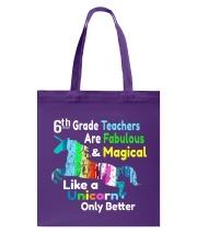 6TH TEACHERS Tote Bag thumbnail
