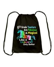 6TH TEACHERS Drawstring Bag thumbnail