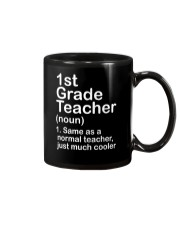 FIRST GRADE TEACHER - NOUN TEACHER T-SHIRT  Mug thumbnail