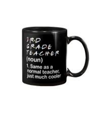3RD GRADE TEACHER - NOUN TEACHER T-SHIRT  Mug thumbnail
