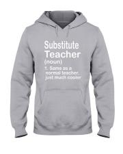 Substitute teacher - NOUN TEACHER T-SHIRT  Hooded Sweatshirt thumbnail