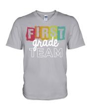FIRST-GRADE-TEES V-Neck T-Shirt thumbnail