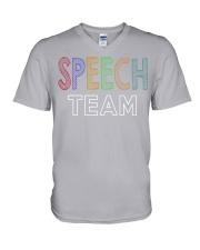 SPEECH V-Neck T-Shirt thumbnail