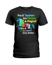 PRE-K TEACHERS Ladies T-Shirt thumbnail