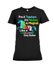 PRE-K TEACHERS Premium Fit Ladies Tee thumbnail