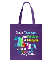 PRE-K TEACHERS Tote Bag thumbnail
