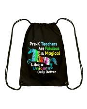 PRE-K TEACHERS Drawstring Bag thumbnail