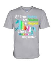 8TH-GRADE-TEACHERS V-Neck T-Shirt thumbnail