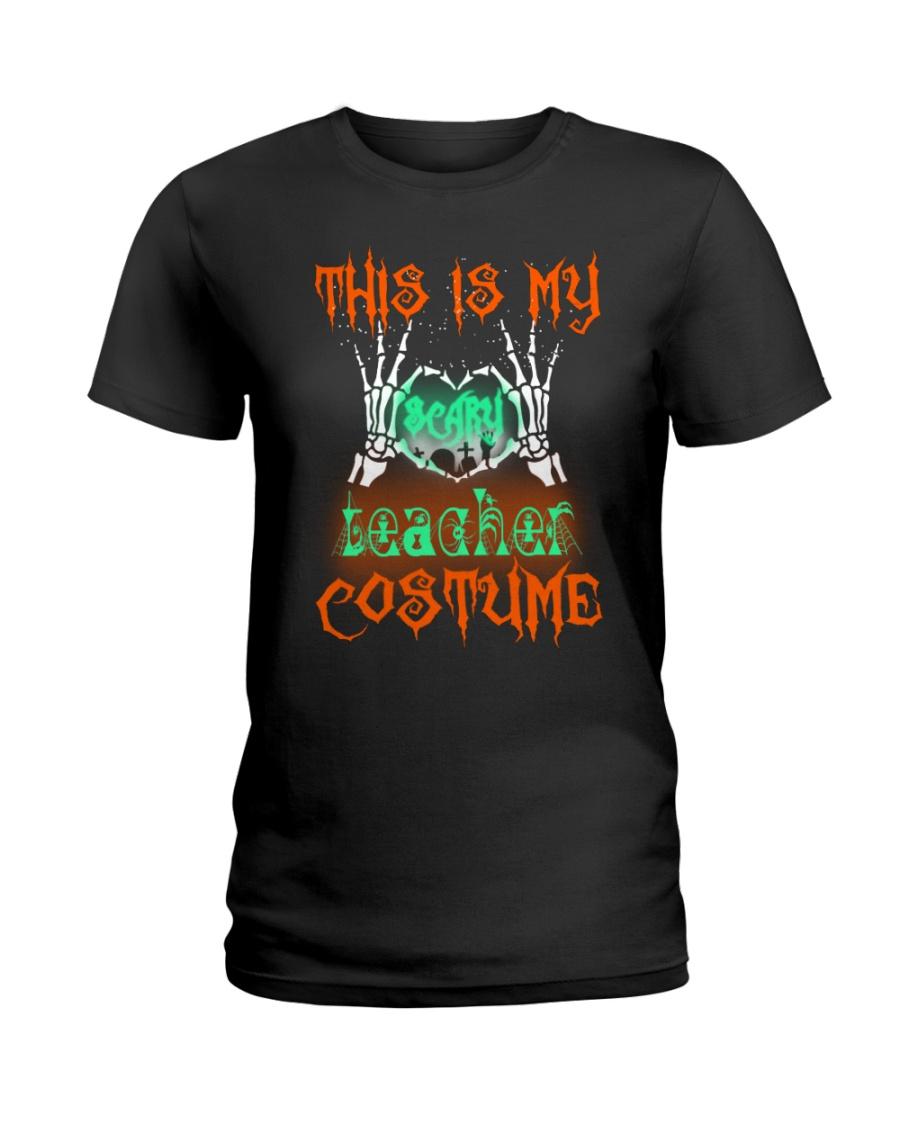 TEACHER COSTUME Ladies T-Shirt