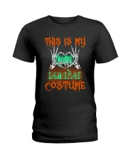 TEACHER COSTUME Ladies T-Shirt front