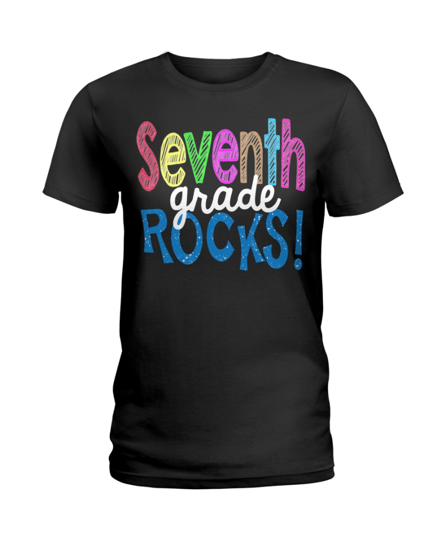 SEVENTH-GRADE-ROCKS Ladies T-Shirt