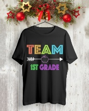 TEAM 1ST GRADE Classic T-Shirt lifestyle-holiday-crewneck-front-2