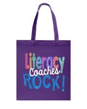 Literacy Coaches Rock Tote Bag thumbnail