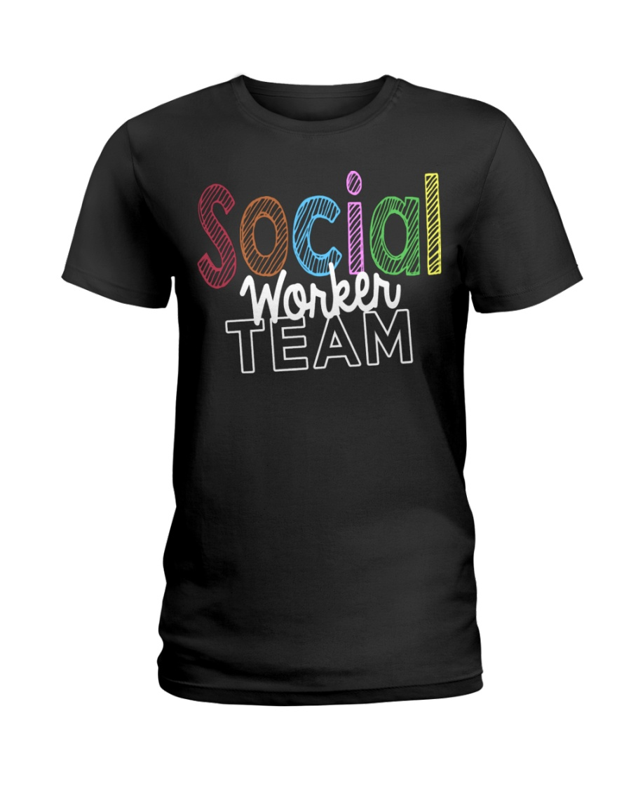 SOCIAL WORKER TEAM Ladies T-Shirt