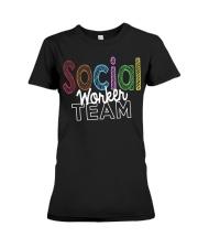 SOCIAL WORKER TEAM Premium Fit Ladies Tee thumbnail