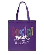 SOCIAL WORKER TEAM Tote Bag thumbnail
