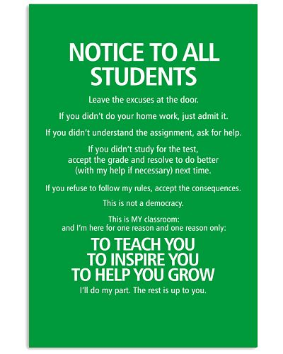 MOTICE TO ALL STUDENTS