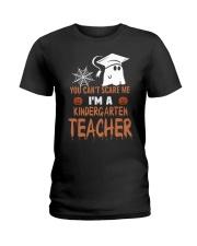 Kindergarten scare shirt Ladies T-Shirt front