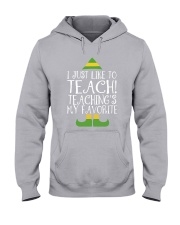 I JUST LIKE TO TEACH Hooded Sweatshirt thumbnail