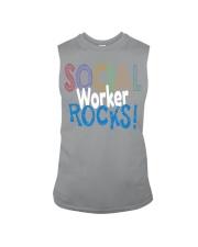 SOCIAL-WORKER-ROCKS Sleeveless Tee thumbnail