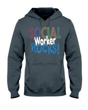SOCIAL-WORKER-ROCKS Hooded Sweatshirt thumbnail
