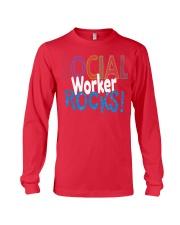 SOCIAL-WORKER-ROCKS Long Sleeve Tee thumbnail