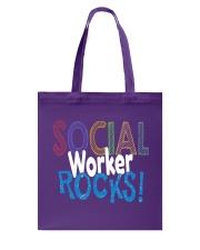 SOCIAL-WORKER-ROCKS Tote Bag thumbnail