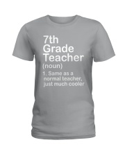 nganld 7th grade - NOUN TEACHER T-SHIRT  Ladies T-Shirt thumbnail