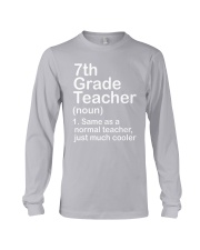 nganld 7th grade - NOUN TEACHER T-SHIRT  Long Sleeve Tee thumbnail