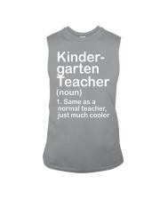 nganld kindergarten  - NOUN TEACHER T-SHIRT  Sleeveless Tee thumbnail