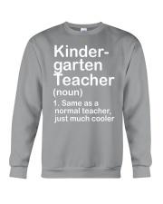 nganld kindergarten  - NOUN TEACHER T-SHIRT  Crewneck Sweatshirt thumbnail