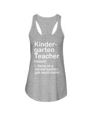 nganld kindergarten  - NOUN TEACHER T-SHIRT  Ladies Flowy Tank thumbnail