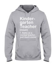 nganld kindergarten  - NOUN TEACHER T-SHIRT  Hooded Sweatshirt thumbnail