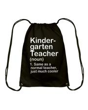 nganld kindergarten  - NOUN TEACHER T-SHIRT  Drawstring Bag thumbnail