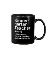 nganld kindergarten  - NOUN TEACHER T-SHIRT  Mug thumbnail