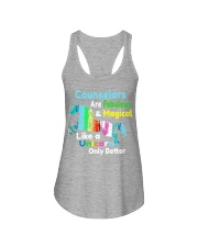 counselors Ladies Flowy Tank tile