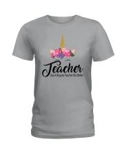 TEACHER LIKE A REGULAR TEACHER BUT BETTER Ladies T-Shirt thumbnail