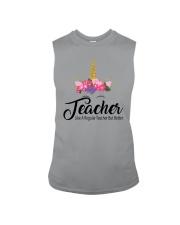 TEACHER LIKE A REGULAR TEACHER BUT BETTER Sleeveless Tee thumbnail