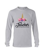 TEACHER LIKE A REGULAR TEACHER BUT BETTER Long Sleeve Tee thumbnail