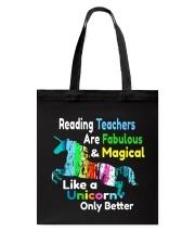 Reading Teachers Tote Bag thumbnail