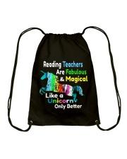 Reading Teachers Drawstring Bag thumbnail