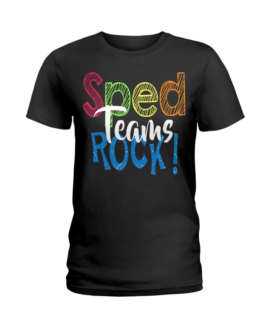 SPED TEAMS SHIRT Ladies T-Shirt