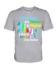Librarians V-Neck T-Shirt thumbnail