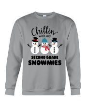 Chillin with my second grade snowmies Crewneck Sweatshirt thumbnail