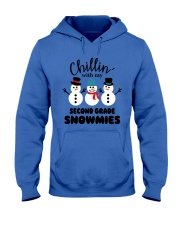 Chillin with my second grade snowmies Hooded Sweatshirt thumbnail