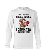 That's what I do I read books Long Sleeve Tee thumbnail