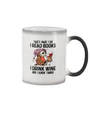 That's what I do I read books Color Changing Mug thumbnail