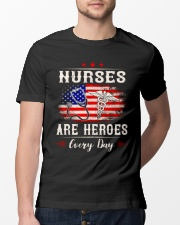 Nurses are heroes every day Classic T-Shirt lifestyle-mens-crewneck-front-13