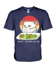 Don't cought on me V-Neck T-Shirt thumbnail